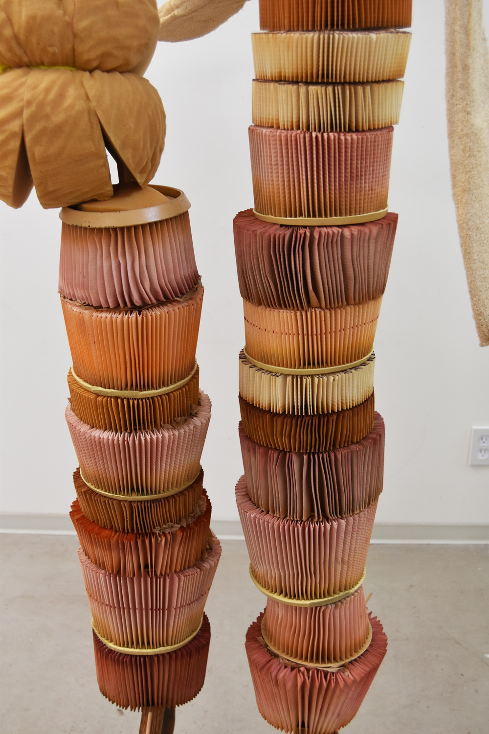 Narrow Tall Stacked & Tippy, Detail 2